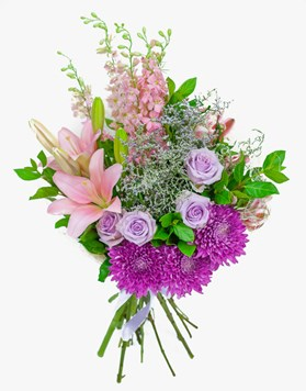 Bouquets: Mauve Magic